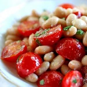 White Beans and Cherry Tomato Salad
