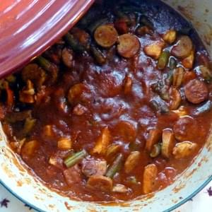 Italian Chicken and Sausage Stew  Serves 6