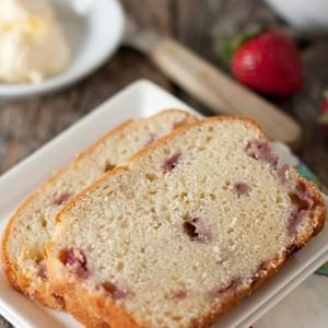 Fresh Strawberry Cream Cheese Bread