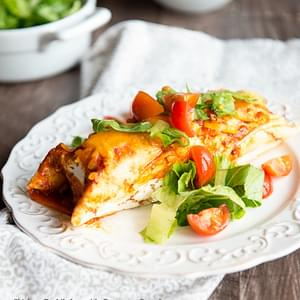Chicken Enchilada Recipe with Butternut Squash
