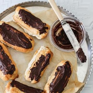 Coffee Cream Eclairs and the Only Choux Pastry Recipe You'll Ever Need