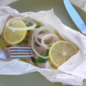 Pressure Cooker Fish in a Packet (Pesce al Cartoccio)