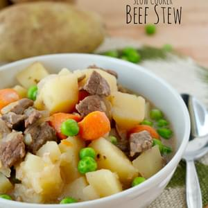 Easy Slow Cooker Beef Stew
