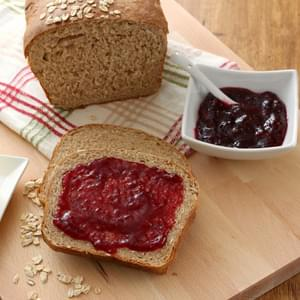Whole Wheat Honey Oat Bread
