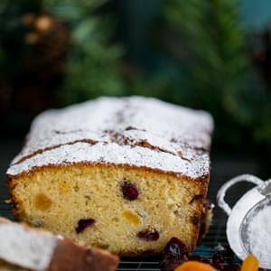 Cranberry Apricot Loaf (A Keks Recipe)