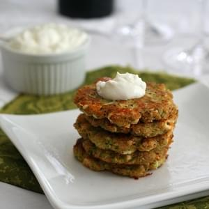 Zucchini and Feta Fritters – Low Carb and Gluten-Free