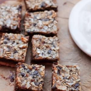 Magic Cookie Bars (vegan + Grain-free)