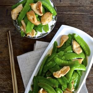 Chicken Snow Peas Stir-fry