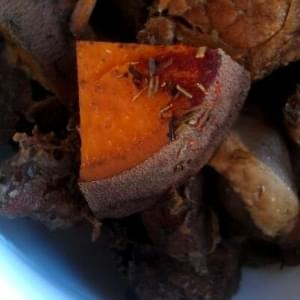 Paleo Crockpot Beef and Mushroom Stew