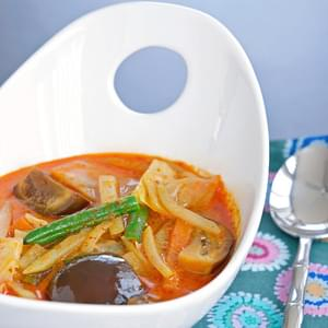 Vegetables in Coconut Milk (Sayur Lemak)