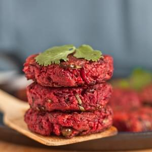 Beet Chop/Beetroot Patty – My twist on a street food from Kolkata