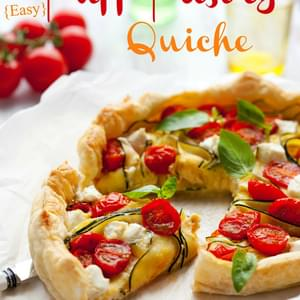 Easy Puff Pastry Quiche
