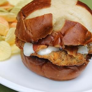 Chicken Bacon Ranch Burgers