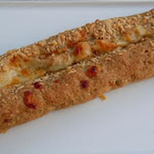 Easy Cheesy Herbed Baguette Bread (Grain Free)