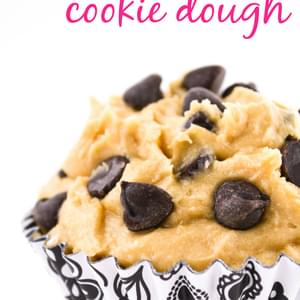 Edible Egg-less Chocolate Chip Cookie Dough
