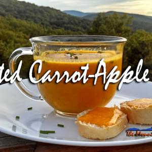 Meatless Monday ~ Roasted Carrot-Apple Soup