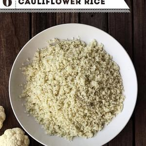 How-to Make Cauliflower Rice