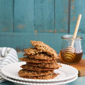 One Pot Honey Oatmeal Drop Cookies