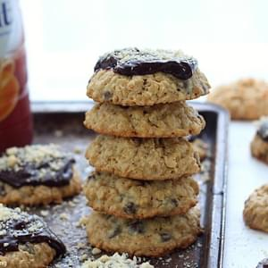 Hazelnut Chocolate Chip Oatmeal Cookies