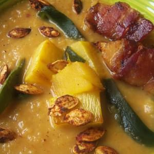 Pumpkin Chipotle Soup Recipe