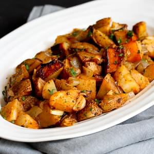 Grilled Potatoes Recipe with Rosemary & Smoked Paprika