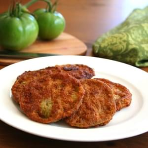 Oven-Fried Green Tomatoes With Sriracha-Ranch Dipping ...