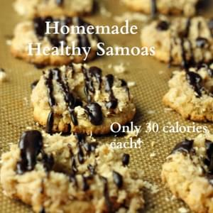 Homemade Healthy Samoas (Vegan/Gluten Free/Low Carb/Paleo)