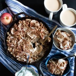 Apple-Chai Baked Oatmeal