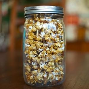 Oven Toasted Caramel Corn