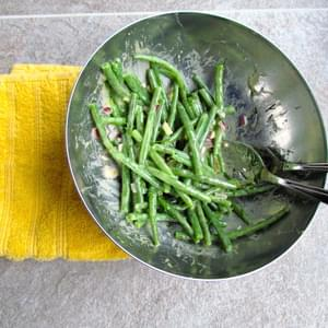 String Bean Salad With Mustard Vinaigrette