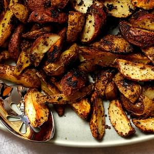 Mustard-Roasted Potatoes