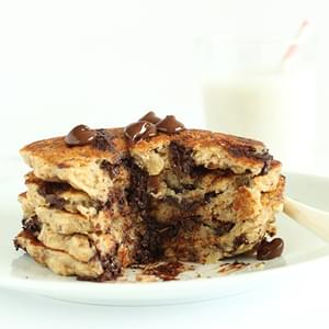 Chocolate Chip Oatmeal Cookie Pancakes 2.0