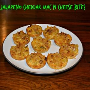 Jalapeno Cheddar Mac N Cheese Bites + Holiday Party Planning