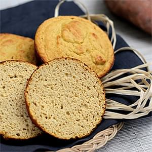 Paleo Sweet Potato Buns (nut-free)