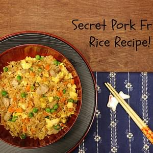 Secret Pork Fried Rice Recipe for #WeekdaySupper