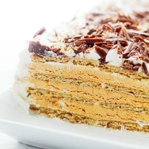 Pumpkin Mousse Ice Box Cake