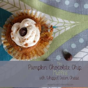 MINI PUMPKIN CHOCOLATE CHIP MUFFINS