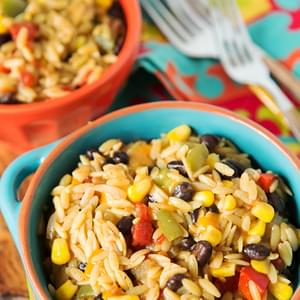 One-Pot Tex-Mex Orzo