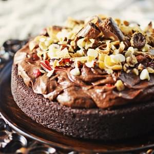 Decadent Chocolate Mousse Cake