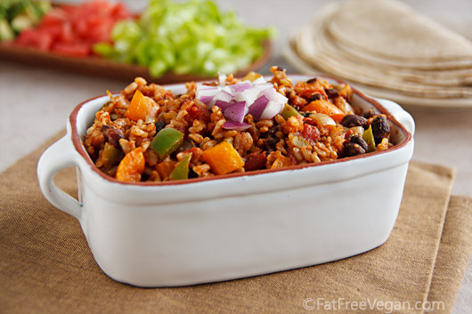Spanish Rice With Black Beans Recipe