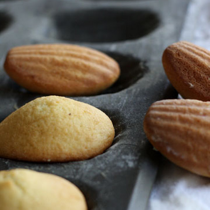 Pink Lemonade-Glazed Madeleines Recipe