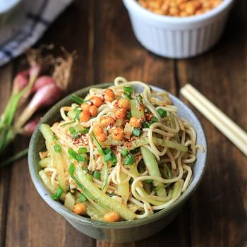 Chicken Noodle Salad- Sichuan Style