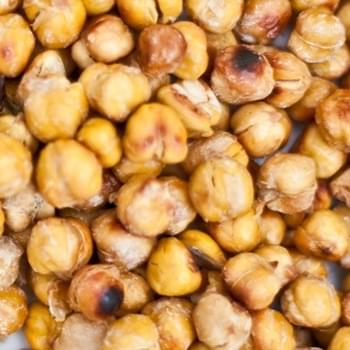 Easy Salt & Vinegar Roasted Chickpeas