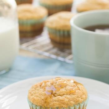 Maple Banana Pancake Muffins