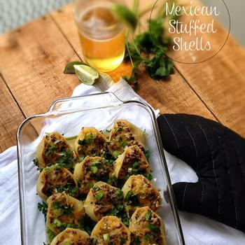 Mexican Stuffed Shells with Southwest Sauce