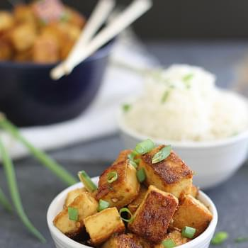 Crispy sweet & sour tofu (and $100 Visa gift card giveaway)