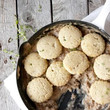 Biscuits and Gravy (Grain-Free, Paleo)