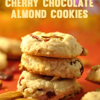 Cherry Chocolate Almond Cookies