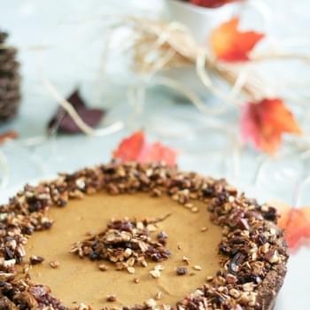 Crazy Good yet Unbelievably Healthy Pumpkin Pie