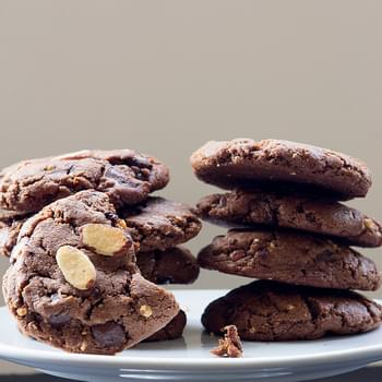 Chocolate Chunk Almond Cookies